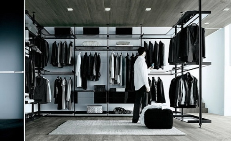 contemporary-closet-organizers-and-walk-in-closet-shelving
